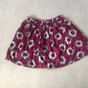 Anthropologie Odille Patterned Skirt w/ POCKETS!